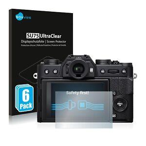 Film Protecteur d'écran pour Fujifilm X-T20 Protection Clair 6x