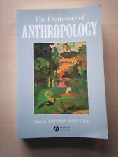 The Dictionary of Anthropology by Thomas Barfield (Paperback, 1997)