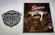 History Channel ~ Pawn Stars ~ Signed Cast Photo ~ Rick Corey Chumlee Richard