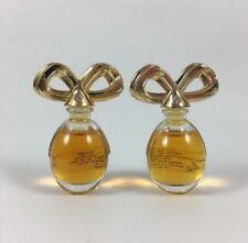 (2) WHITE DIAMONDS Elizabeth Taylor .12oz/3.7ml PURE PARFUM SPLASH MINI's NO BOX