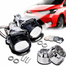 Zento Deals 2 Pk. Car Mini H1 HID Bi-Xenon Lens-H1 Bulb High/Low Bim Light
