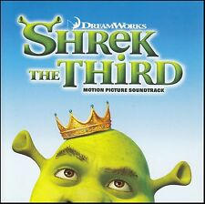SHREK THE THIRD - SOUNDTRACK CD ~ EDDIE MURPHY~LED ZEPPELIN~WOLFMOTHER ++ *NEW*