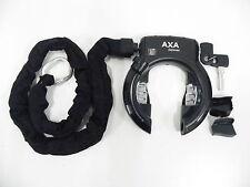 AXA Defender RL  Rahmenschloss Fahrradschloss  mit  Einsteckkette 100 cm-Kette