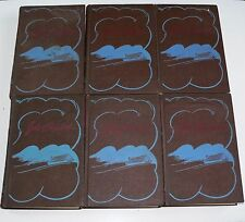 JOHN STEINBECK - SET OF 6 1930'S COLLIER HARDBACKS - GRAPES TORTILLA MICE & MEN