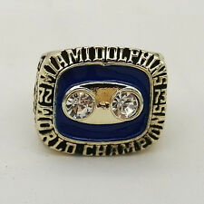 1972 Larry Csonka Miami Dolphins Super Bowl Championship Prototype Sample Ring