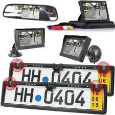 Rückfahrkamera für Vorne & Hinten mit Parksensoren + Einparkhilfe + Monitor