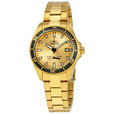 Invicta Pro Diver Gold-tone Ladies Watch 15138