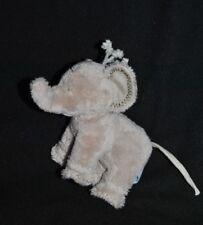 Peluche doudou éléphant gris Ferdinand TARTINE ET CHOCOLAT Petit Modèle 12 cm