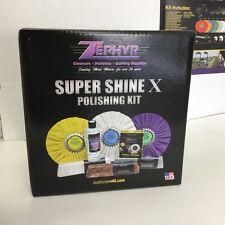 Zephyr Super Shine X Polishing Kit (Aluminium & Chrome)