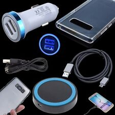 4 Accessory Clear Case Qi Wireless Car Charger Cable for Samsung Galaxy Note 8