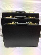 Job Lot 3pc Set Mens Briefcase Business Documents Lockable Organiser Office Bag