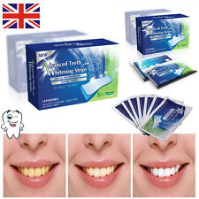 28 Advanced Teeth Whitening Professional White Strips Tooth Bleaching Kit 3D