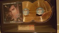 Elvis Presley 1954-1961 24 kt Gold Plated Records Limited Edition 19/250 w/COA