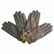Mark Todd Adults Winter Leather Riding Gloves Thinsulate BLACK xs
