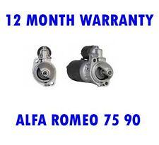 Alfa Romeo 75 90 2.0 2.4 1984 1985-1992 Motor de Arranque