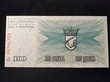 New Listing1992 100 Dinara Bosnia-Herzezovina