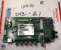 VIZIO 756TXGCB01K0130 715G7769-M01-000-004N Main Board for D43N-E1