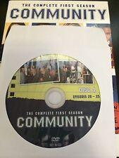 Community - Season 1, Disc 4 REPLACEMENT DISC (not full season)