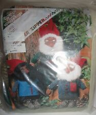 WEIR DOLLS KNITTED TOMTEN DOLL KIT OPENED UNUSED GNOME ELF