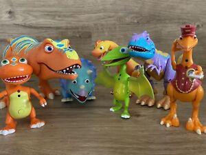 Jim Henson Dinosaur Train 7 Interactive Talking Toys Alvin Buddy Mr Conductor