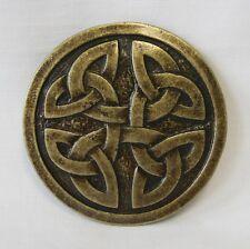 gothique de style médiéval Celtes BOUCLE POUR CEINTURE Rond II vieux laiton NEUF