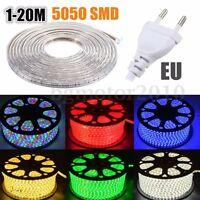 1-20M 5050 SMD 60 LED IP67 Strip Guirlande Bande Ruban Silicone Lampe Etanche