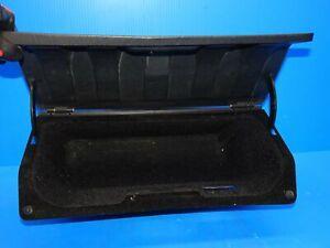 83-85 PORSCHE 944 & 87-88 924S GLOVE BOX INSERT WITH LID COVER BLACK OEM