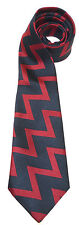 ROYAL REGIMENT OF ARTILLERY ZIG ZAG STRIPE  WOVEN UK MADE MILITARY TIE