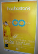 Hoobastank in Concert Show Poster Denver Co The Reason Tour 10-28-2018 Very Cool