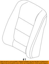 FORD OEM 11-15 Explorer Front Seat-Cushion Cover-Top Back Left DB5Z7864417DA