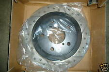 RIGHT REAR ROTOR FOR SUBARU SLOTTED/CROSS DRILLED