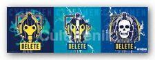 SCIENCE FICTION POSTER Doctor Who Cybermen Delete Triptych