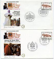 Vaticano 1980 Viaggio Giovanni Paolo II in Germania (m1574)