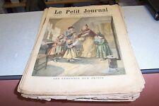 LE PETIT JOURNAL SUPPLEMENT ILLUSTRE 1895 N° 163 au N° 215