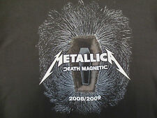 Metallica 2Xl Shirt Death Magnetic Rock & Roll Heavy Metal Master Of Puppets