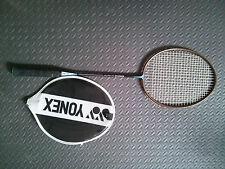 YONEX Graphlex 120 U-G4 badminton racket, full carbon shaft, head cover included