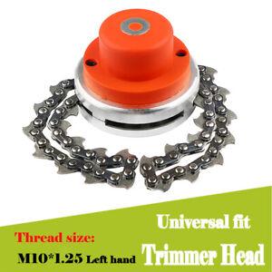 1'' Universal Trimmer Head Wire Chain Brush Cutter Garden Grass Lawn Mower Tool
