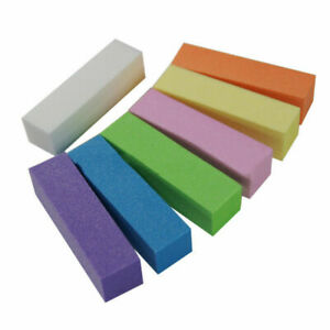 10Pcs/set Sanding Sponge Nail File Buffer Block for UV Gel Nail Polish Nail Art