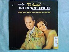 LENNY DEE Relaxin LP EX+ US 1968 Decca DL 74946