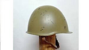 Antique Helmet Military Polish Model Wz1967,Year 1974 For Infantry Green Olive