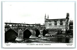 Postcard The Chantry and Bridge Wakefield Yorkshire