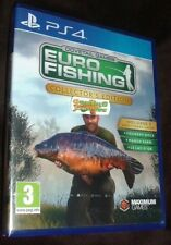 Euro Fishing Collector's Edition Playstation 4 PS4 NEW SEALED FREE UK Delivery