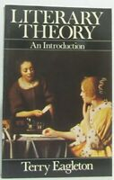 Literary Theory: An Introduction by Terry Eagleton Paperback Book The Fast Free