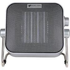 Ceramic Box Heater Avalon Two Heat Settings Fully Adjustable Angles Even Heat
