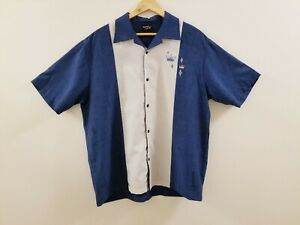 50's Vintage Style -  Steady Classics Men's Bowling Shirt -Discontinued Style-XL