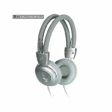 Luxmo Platinum Collection BeatBass Stereo Headphones - Silver