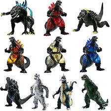 10 Action Toy Figures Godzilla Monsters Mechagodzilla Trendmaster Gigan Anguirus