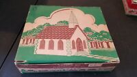 Vintage Plasticville CC-8G Country Church Kit with OB