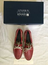 RARE Men's Sperry Top-Sider for J.Crew Authentic Original 2-eye boat shoes Sz 10