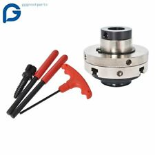 New 4 Jaw 4 Inch Self Centering Lathe Chuck Set With 1 Inch X 8tpi Thread